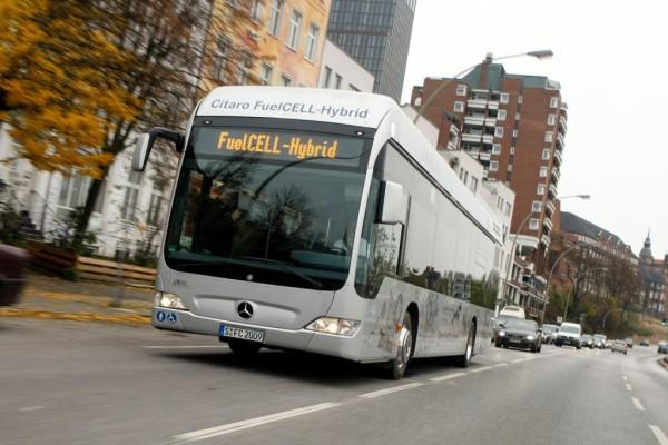EU-Modellprojekt: Die Brennstoffzelle für den Bus