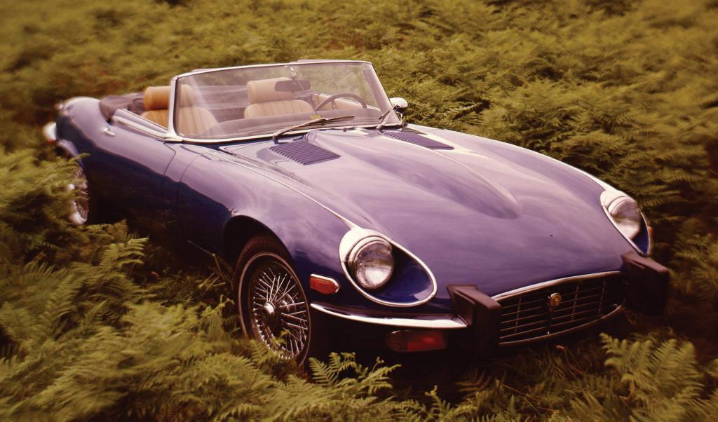 Ein Jaguar E-Type ist ebenfalls eine gute Investition.