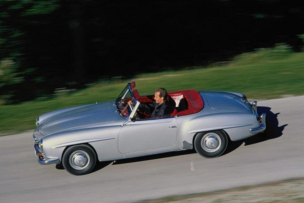 Ein sehr gut gepflegter Mercedes 190 SL aus den 60er Jahren kostet heute gut und gerne 100 000 Euro.