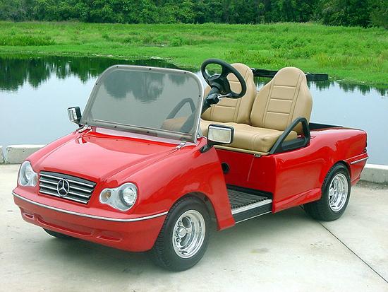 Endlich ein Benz, den man sich leisten kann, Foto von: luxurycarts.com