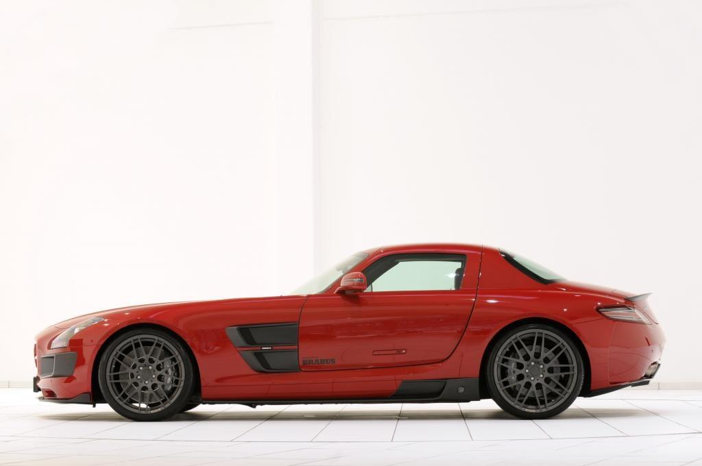 Essen 2010: Brabus verbreitert den Mercedes-Benz SLS AMG