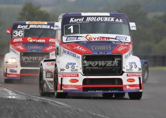 Essen Motor Show mit Race Trucks und Dragstern