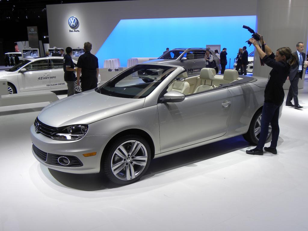 Facelift beim Volkswagen Eos.