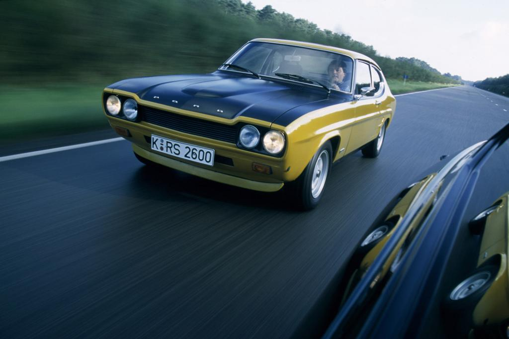 Ford Capri RS 2600, 1973