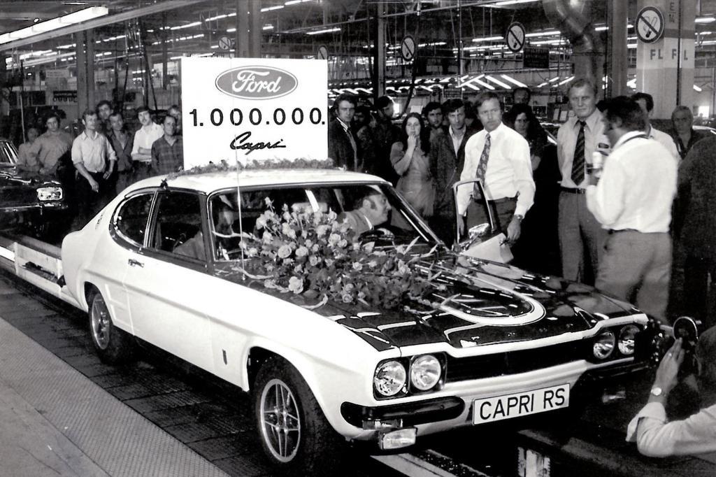 Ford Capri RS 2600, 1973