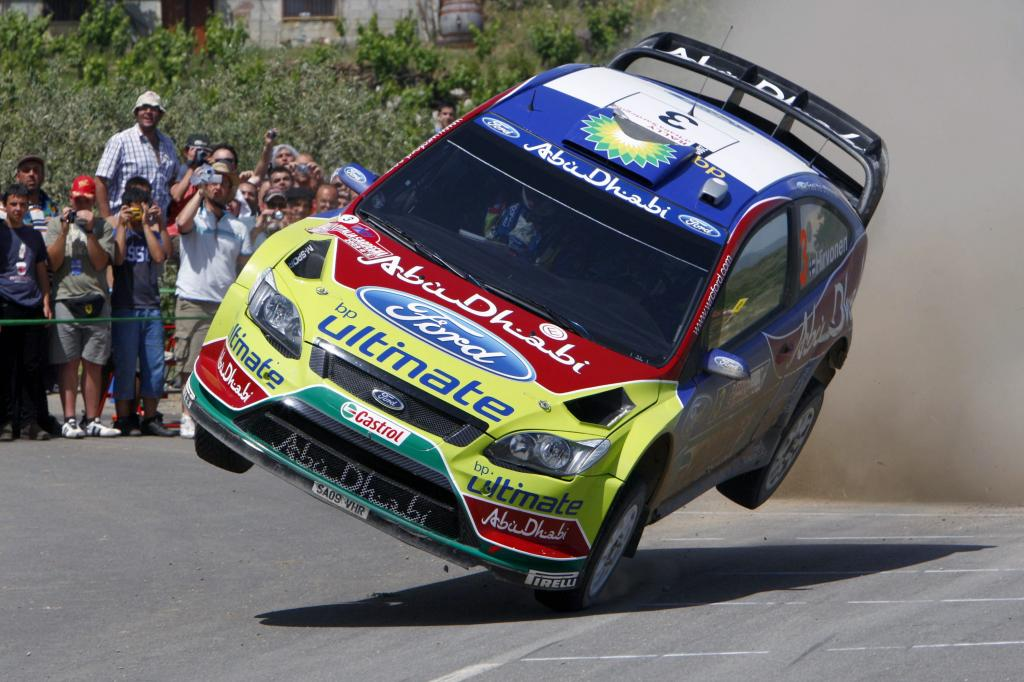 Ford Focus RS WRC.