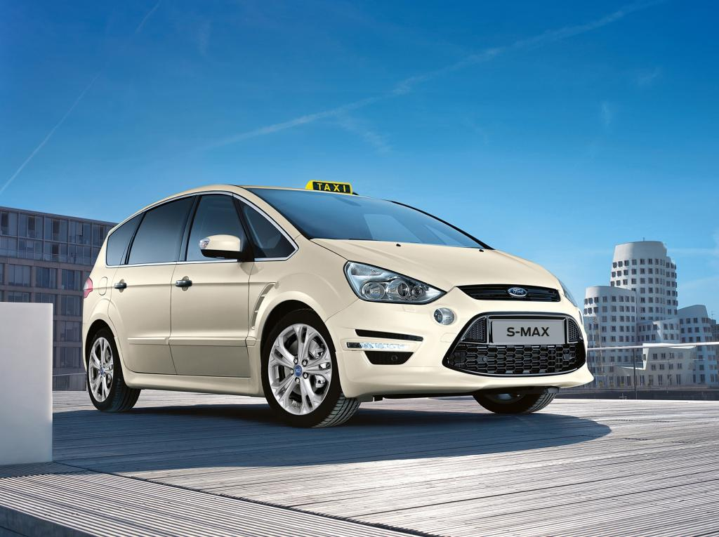 Ford S-Max in Taxi-Ausführung.