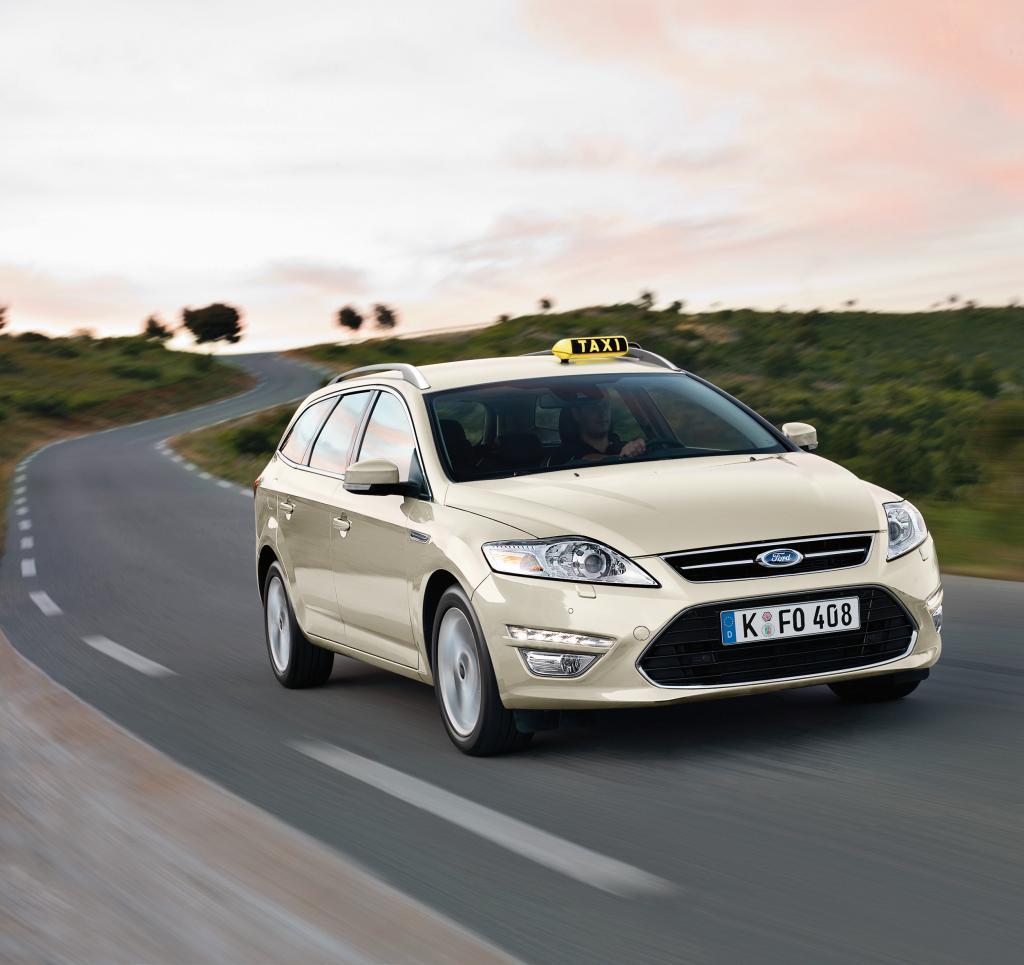 Ford zeigt Grand C-Max als Taxi