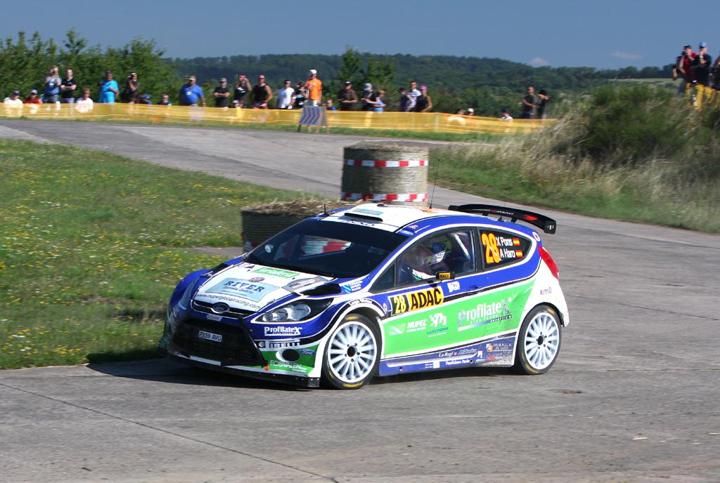Fords Rallye-Renner auf der Strecke