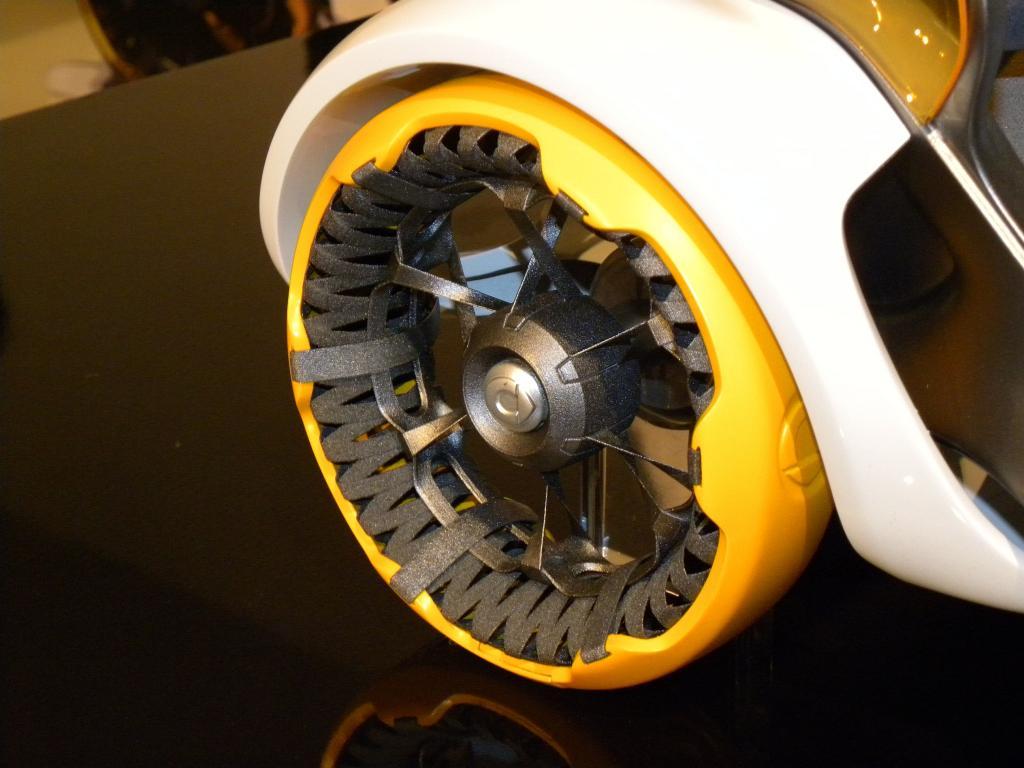 Ganz weit nach vorn gedacht: Studie für einen Smart der Zukunft vom deutschen Designzentrum von Mercedes-Benz.