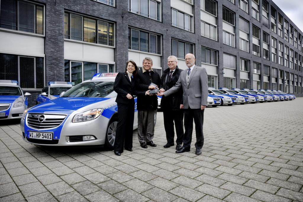 Hessische Polizei setzt Opel Insignia Sports Tourer ein