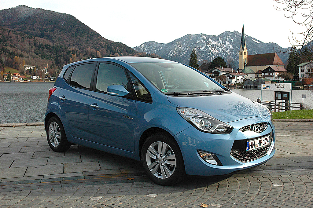 Hyundais neuer City-Van ix20.