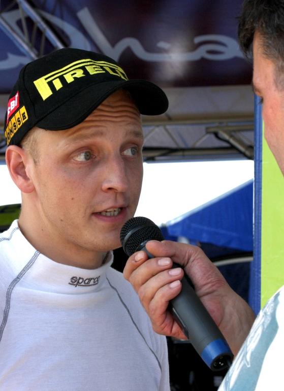 Im Interview: Ford-Pilot Mikko Hirvonen.