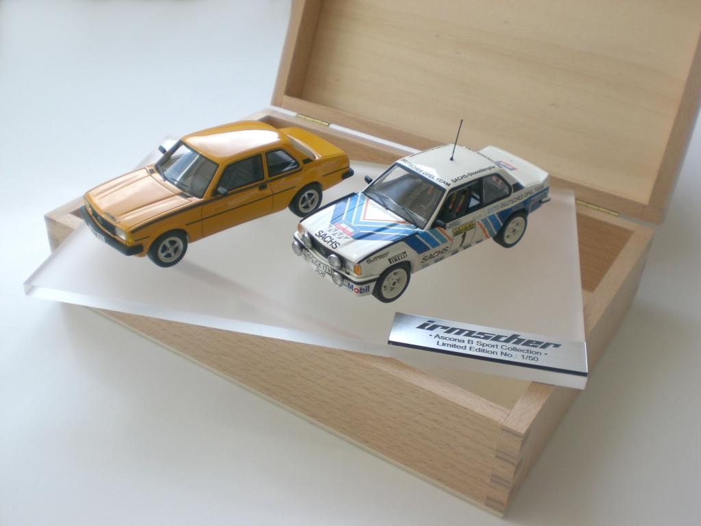 Irmscher legt Modellauto-Sets und Fan-Kollektion vor