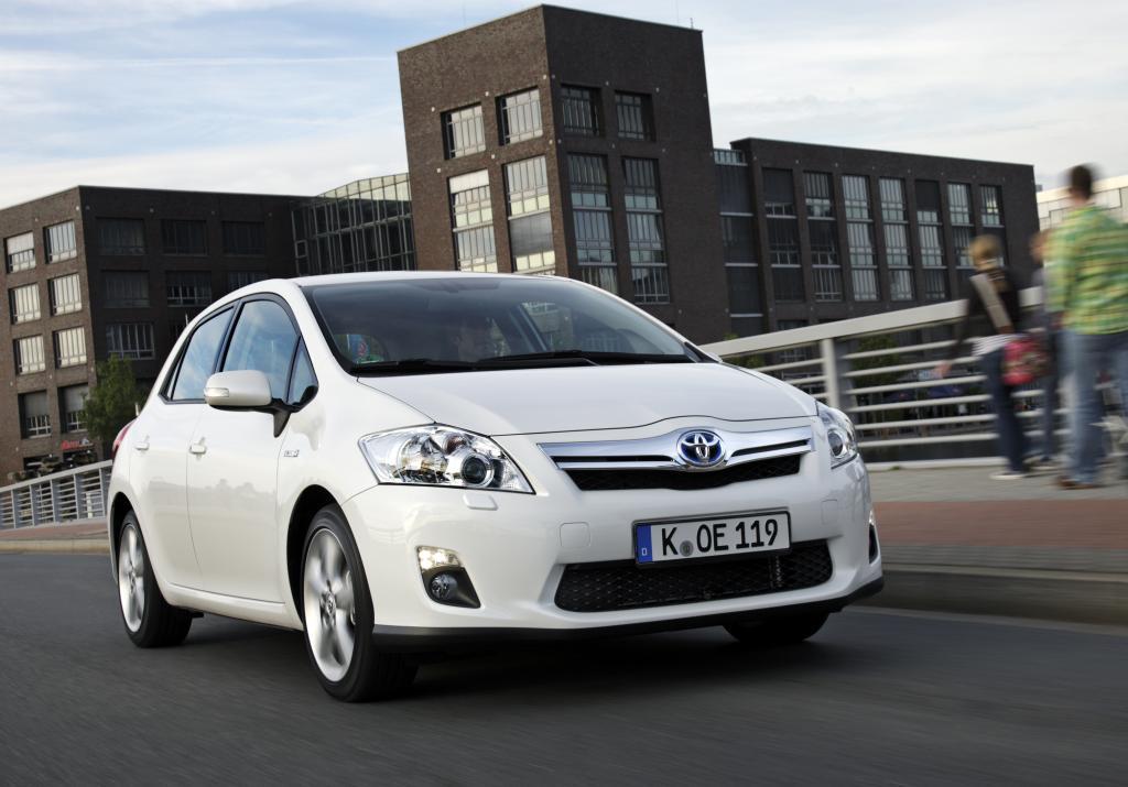 Jahresproduktion des Toyota Auris Hybrid ist ausverkauft