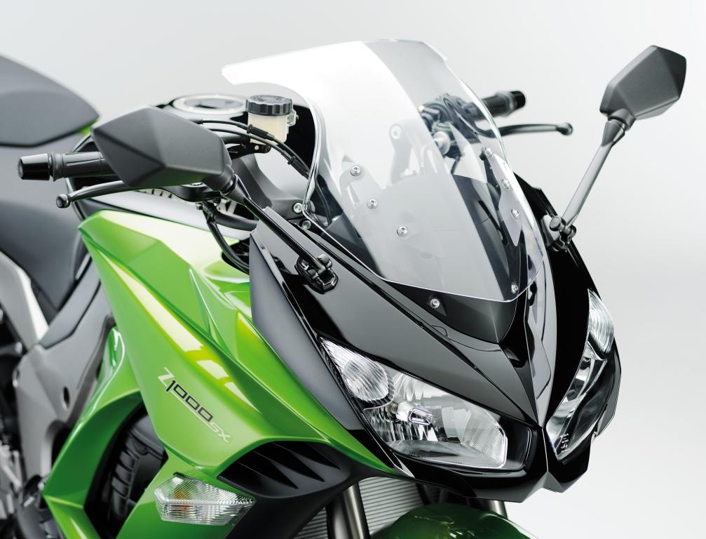 Kawasaki Z1000 SX: Sporttourer mit Z-Power