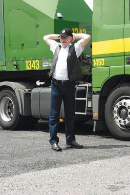 Kostenloser Gesundheitstest für Lkw-Fahrer auf italienischen Autobahnen