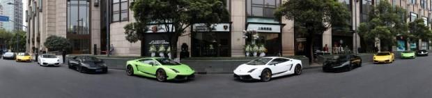 Lamborghini eröffnet zwei weitere Showrooms in China
