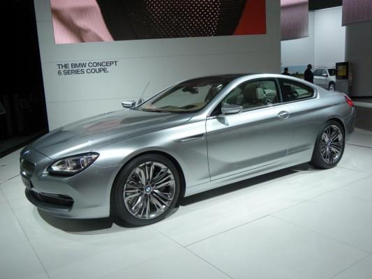 Los Angeles 2010: BMW zeigt Concept 6 Series Coupé