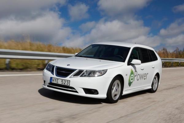 Los Angeles 2010: Saab präsentiert den 9-3 mit Elektroantrieb