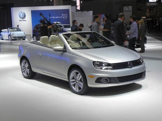 Los Angeles 2010: Volkswagen feiert Weltpremiere des neuen Eos