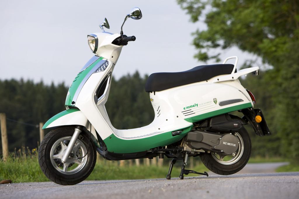 MZ startet im März 2011 mit der Roller-Produktion