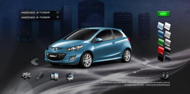 Mazda 2 auf Facebook