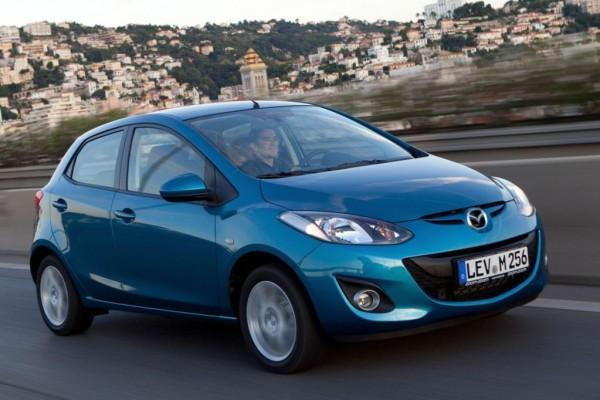 Mazda2: Kleinschliff