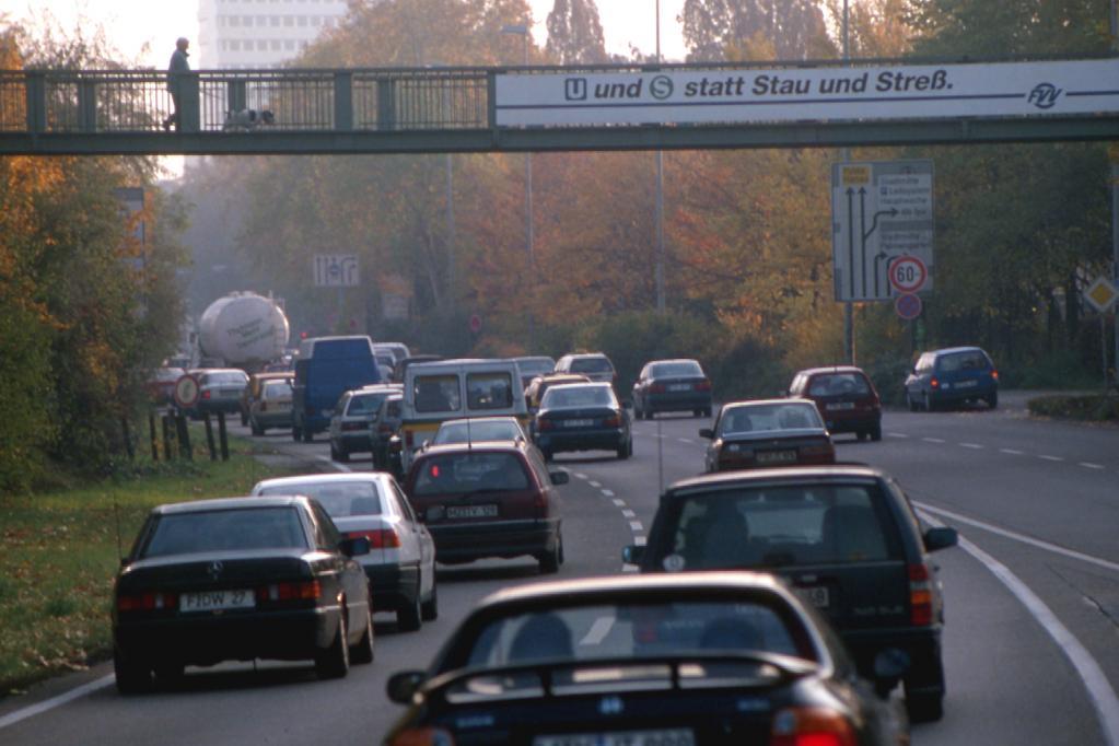 Mehr Staus in Deutschland als in Holland