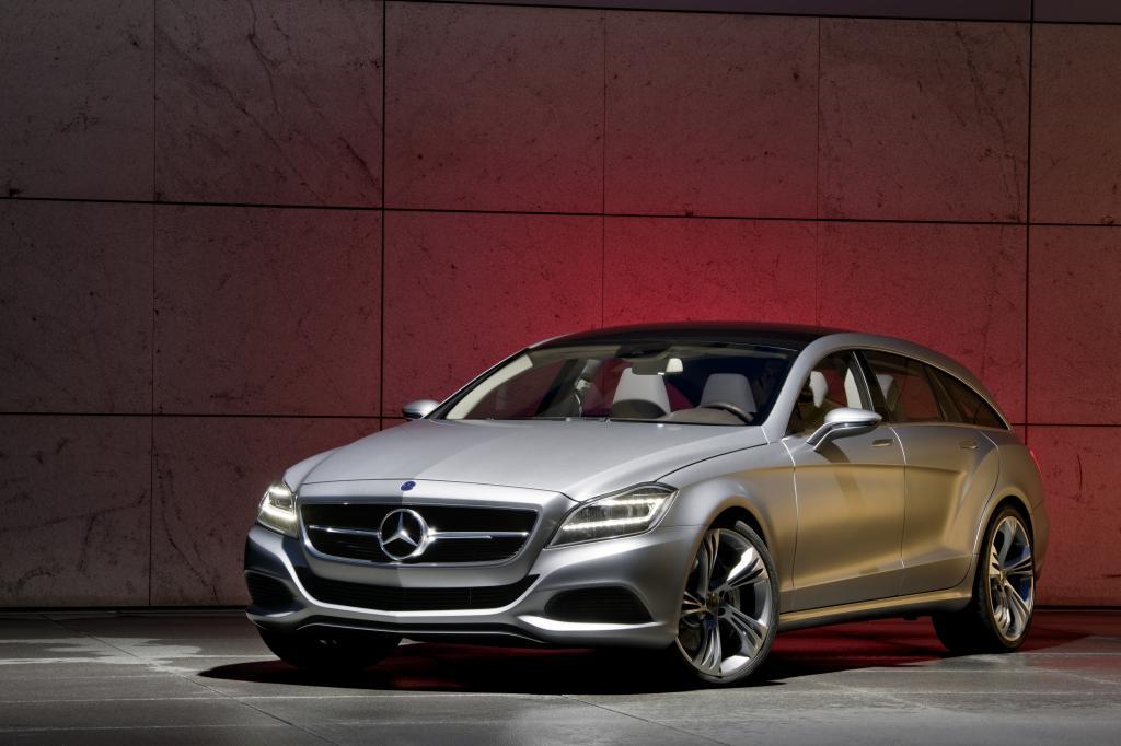 Mercedes-Benz CLS Shooting Brake.