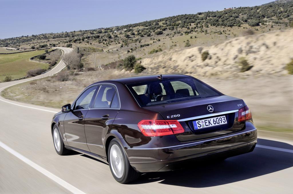 Mercedes-Benz E 200 CDI Blue Efficiency.