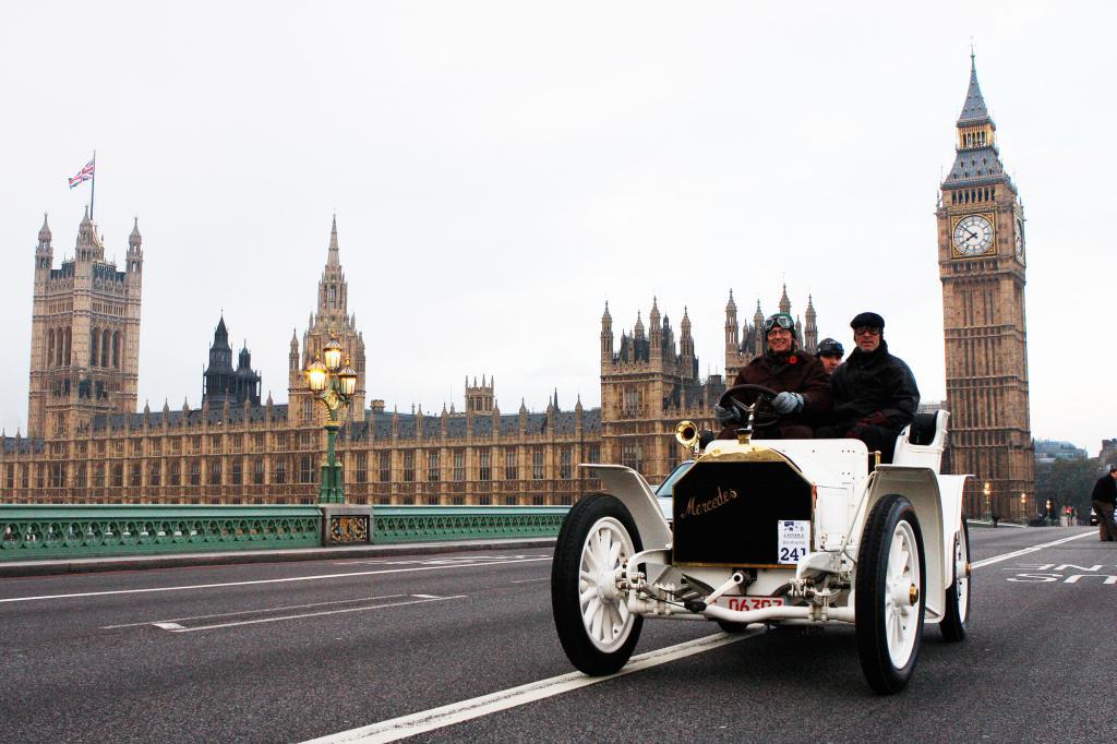 Mercedes Simplex von 1902 - Der weiße Riese