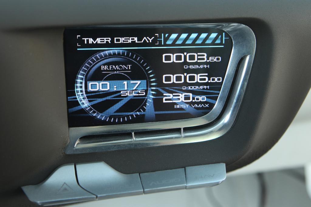 Mit dem Info-Display ist der Fahrer immer gut informiert