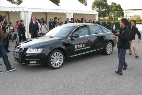Nachholbedarf beim E-Antrieb - Audi forscht in China
