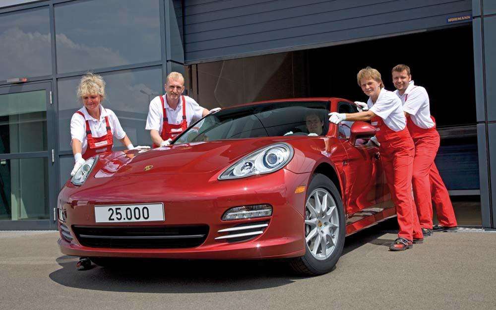 Nur Porsche schnitt bei den Amerikanern gut ab und landete auf Platz 2