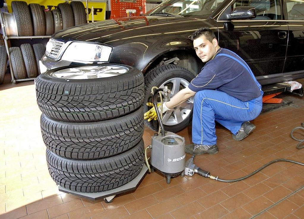 Oft Ärger bei der Reifeneinlagerung