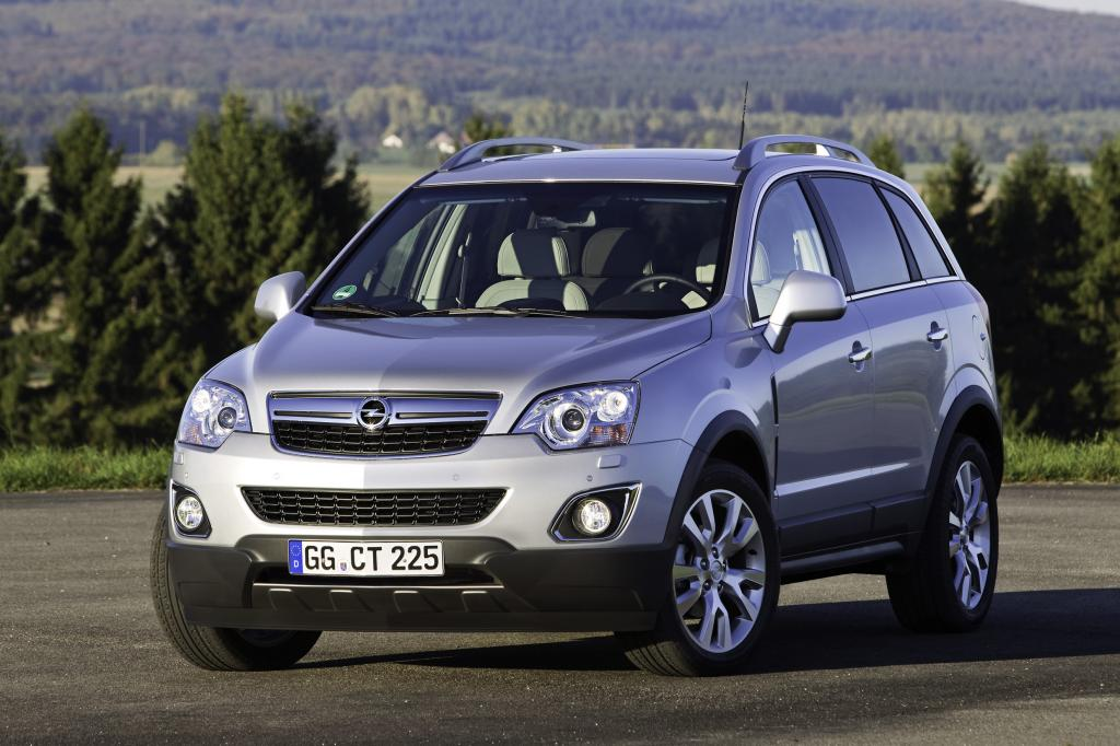 Opel Antara mit neuen Motoren und modifizierter Optik