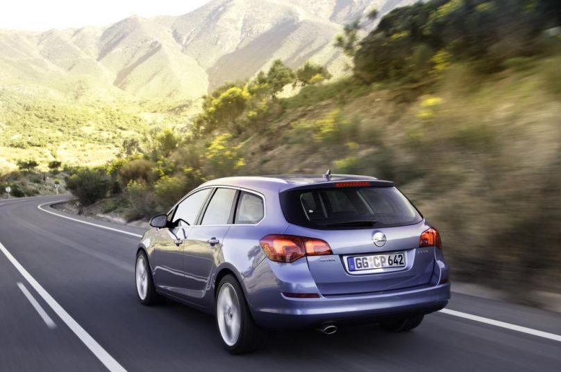 Opel Astra Sports Tourer Heckansicht