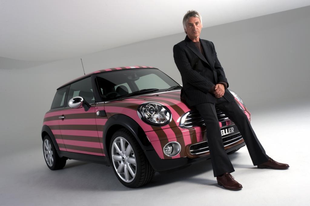 Paul Weller versteigert Mini im Mod-Design