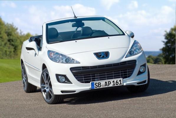 Peugeot 207 CC Black & White Edition neu aufgelegt