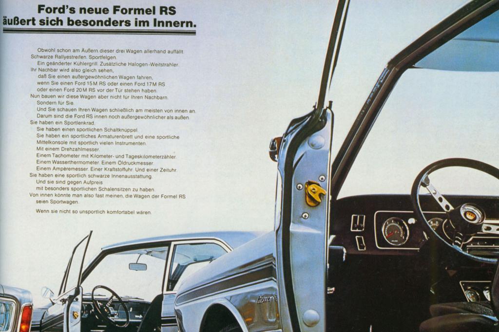 Prospekt Ford 15M, 17M, 20M, 1968