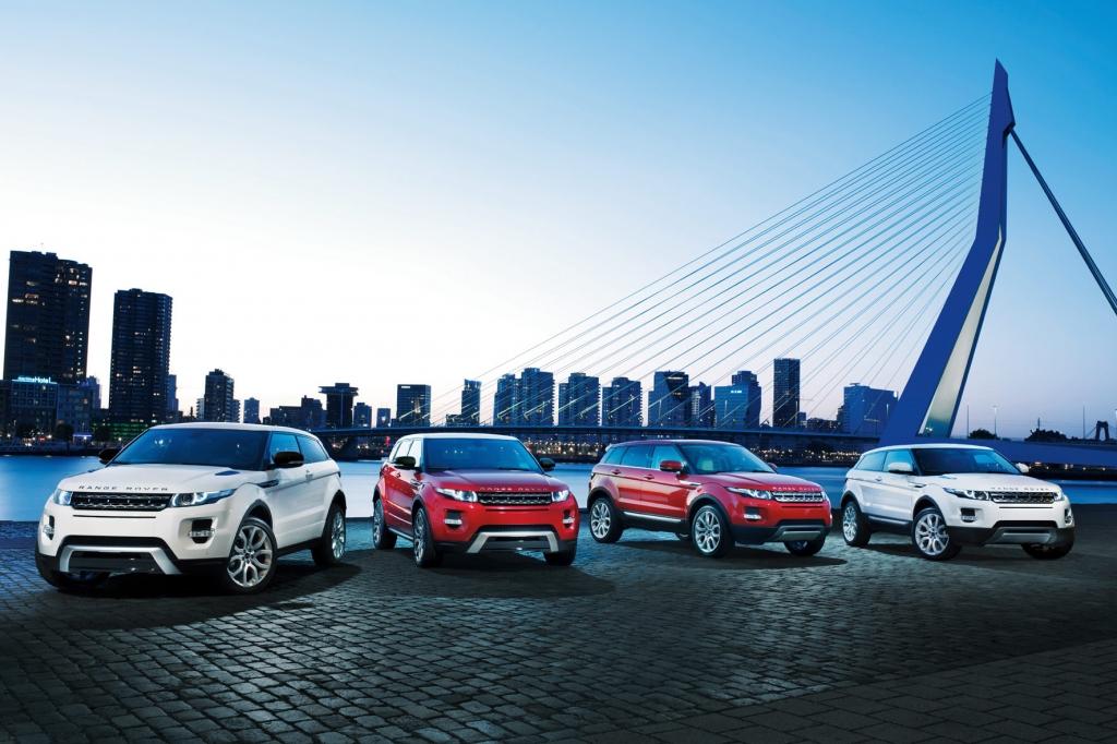 Range Rover Evoque Fünftürer: Kompakter Chic für Familie und Gelände