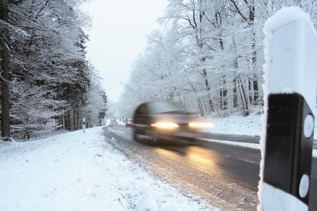 Recht im Winter - Verhalten bei Schnee und Eis