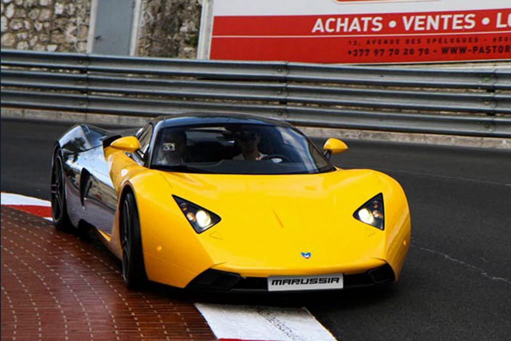 Russlands sportlicher Angriff auf die Automobilwelt sind die Sportwagen von Marussia.
