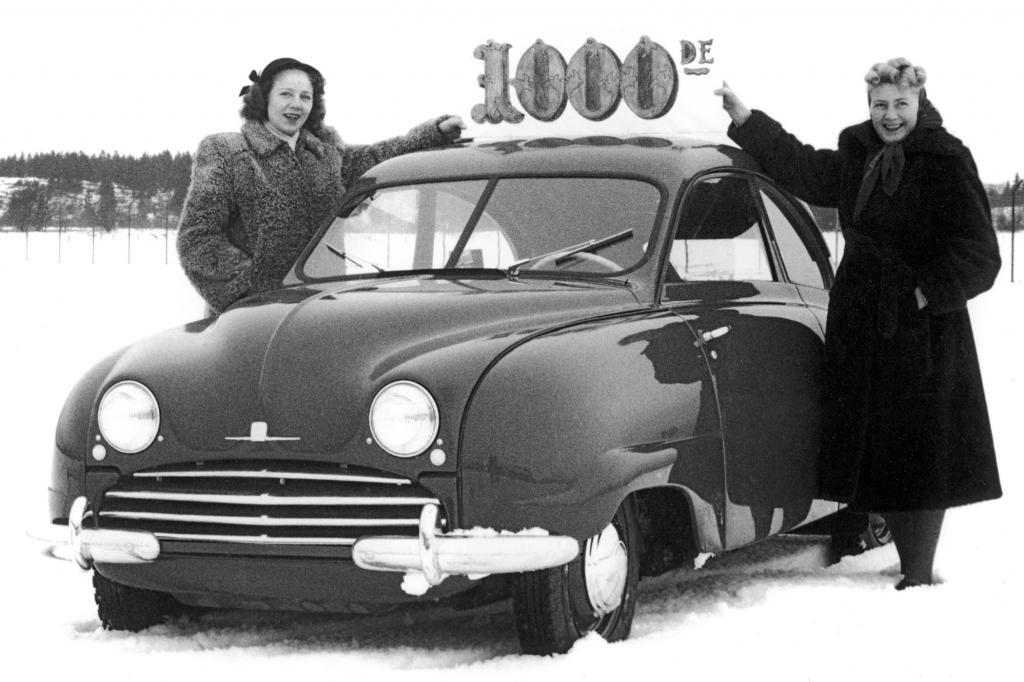 Saab 92, Nummer 1000, 1950