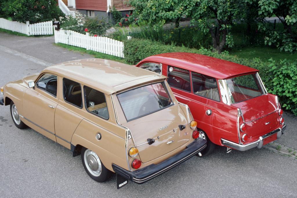 Saab 95 von 1959 und 1978