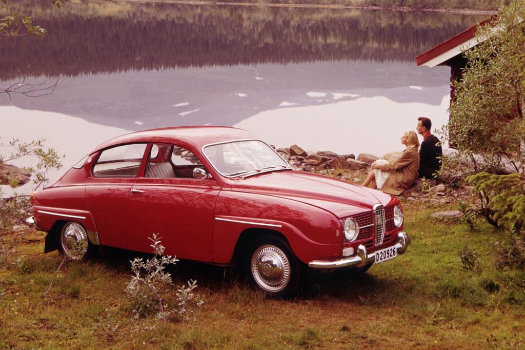 Saab 96 Long Nose Zweitakter von 1967