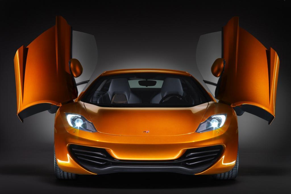 Supersportwagen mit wenig Gewicht, der McLaren MP4-12C