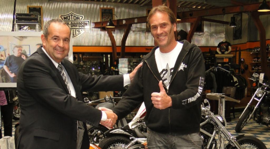 Thunderbike ist ''Motorradhändler des Jahrzehnts''