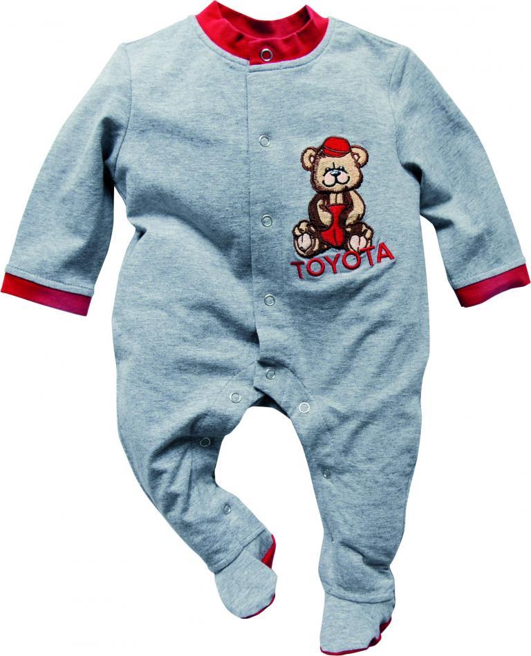 Toyota-Kollektion: Babystrampler.